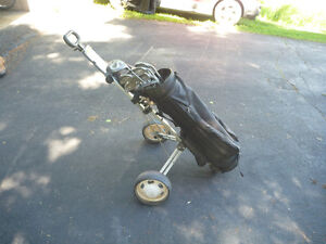 Golf clubs and other