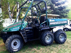 ~The Golf Cart Guy ~  1999 Polaris Ranger 6X6 Side by Side