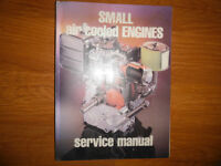 Small Air Cooled Engines Manual Kohler Kawasaki Craftsman Briggs