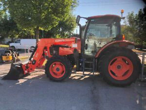 2016 Kubota M6-101 *Cab + chargeur * Seulement 745 heures