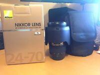 Nikon Nikkor 24-70mm f/2.8G ED