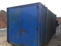 Steel secure store / Container
