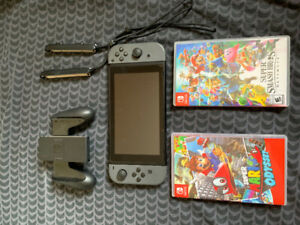 Nintendo switch & jeux à vendre/ games to sell