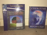 Psychology/sociology books for sale