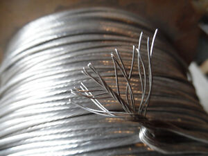 """1 x 19  Stainless Steel 1/8"""" Dia, Wire  Cable 1000ft new Kitchener / Waterloo Kitchener Area image 1"""