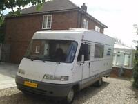 Hymer B544 Classic, 2800cc, Sleeps 4, Luxury Drop Down Bed, Needs to be Seen.