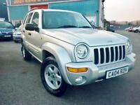 JEEP CHEROKEE 2.8 DIESEL 4X4 AUTO LOW MILEAGE HIGH SPEC (NOW SOLD)