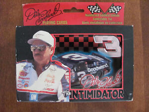 DALE EARNHARDT # 3 PLAYING CARDS Cornwall Ontario image 1