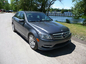 2011 Mercedes-Benz C250 V6 Sport Package AWD $78 Weekly Peterborough Peterborough Area image 1