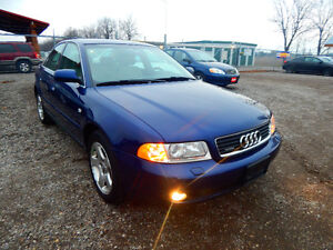 2001 Audi A4 Quattro Luxury Sedan Mint Low miles No Rust! London Ontario image 1