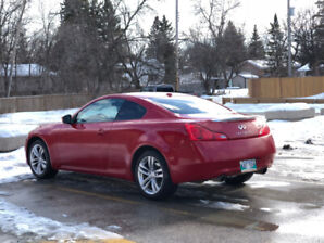 2009 Infiniti G37x coupe No Accidents - Brichwood serviced
