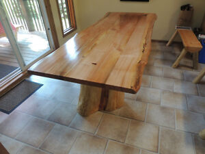 Quality hand made real wood tables lcoally crafted Comox / Courtenay / Cumberland Comox Valley Area image 6
