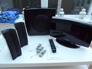2.1 home theater system.Easy set up