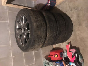 All weather car tires