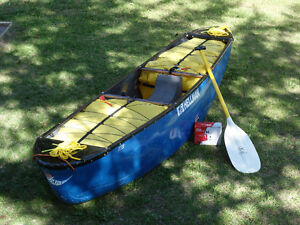 Hellman Solo Composite Whitewater Canoe