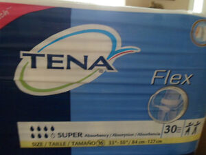 """Just REDUCED"" Case of  Tena Flex Super Belted Briefs XL   67806 London Ontario image 1"