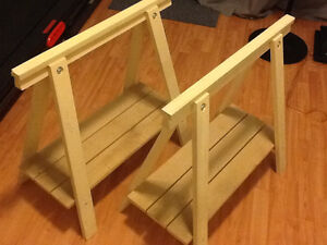 Ikea Oddvald trestle table legs. $20 for the pair