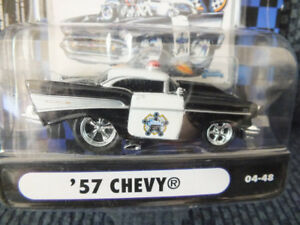 1957 CHEVY BEL AIR POLICE DEPT MUSCLE MACHINES