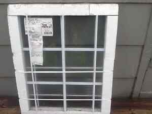 Thermal pane window insert, still in packing