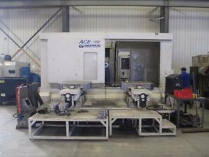 Daewoo Ace-H100 Pallet changer CNC mill
