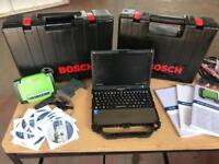 2018 A WORKSHOP WORKSHOP BOSCH KTS950 AND DCU220 DIAGNOSTIC EQUIPMENT