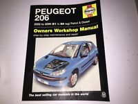 Peugeot 206 2002 to 2006 manual