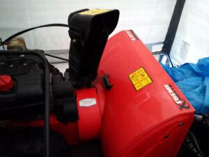 "Tecumseh MTD Snowblower, 10.5 hp, 29"" with headlight"
