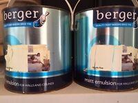 Matt emulsion 2 tins