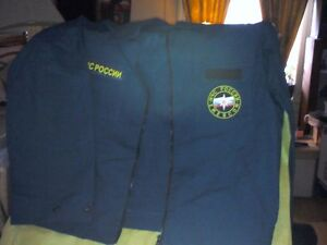 Russian Emergency Forces 2pc Costume/Heartbeat Thrift Store Belleville Belleville Area image 1