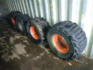 2 SETS of Wheels and Tires (Wheel Weights)
