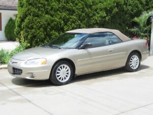 2002 Chrysler Sebring Convertible