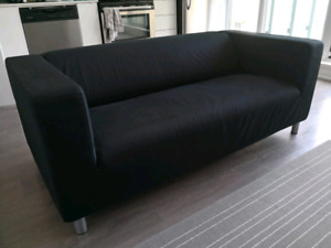 Ikea Klippan Sofa/Couch (Loveseat Black)