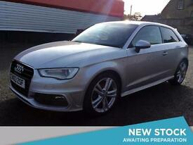 2013 AUDI A3 2.0 TDI S Line Leather Bluetooth GBP20 Tax