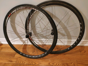 Bontrager Race XXX lite Tubular Wheelset, 1834 grams w/tires