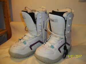 Women's Snowboard Boots Sizes 5 & 9 (Two Pairs)