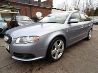 Audi A4 Avant 2.0 TDI S LINE AVANT TDI (1 OWNER + RECENT TIMING BELT CHANGE) (silver) 2006