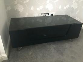 TV Cabinet in Black Gloss