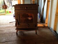 Multifuel coal, wood and log burner, woodburning stove 8kw