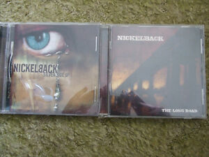 2 Nickleback cds-The long road and Silver side up
