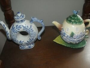 "Collectible Teapots "" REDUCED """