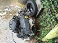 Corsa c sxi 1.2 engine and gearbox
