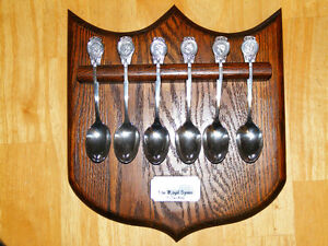 Vintage Royal Family Spoon Collection - WM Rogers