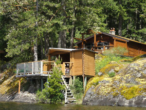 Rustic Vacation Rental Cabin - Shawnigan Lake Sept $1700 per wk