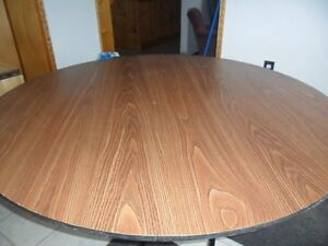 LARGE ROUND FOLD UP TABLES