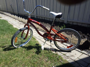 "20"""" The foot brake bikes/good condition $40.00"