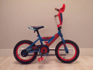 "10"" Huffy Spiderman BMX Bike"