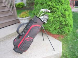 Women's Right Hand 12-pc Golf Clubs Set (Wilson Ultra) & Bag