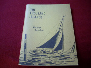 1956 Thousand Islands book   Must Have
