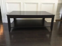 Coffe table, 2 end tables