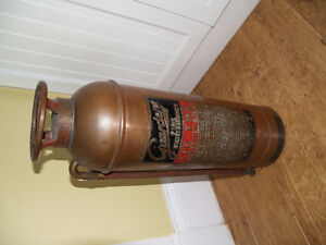 Guardene  Fire Extinguisher  Copper and Brass